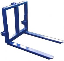 3 Point Linkage Pallet Forks Bale Mover 2200lbs